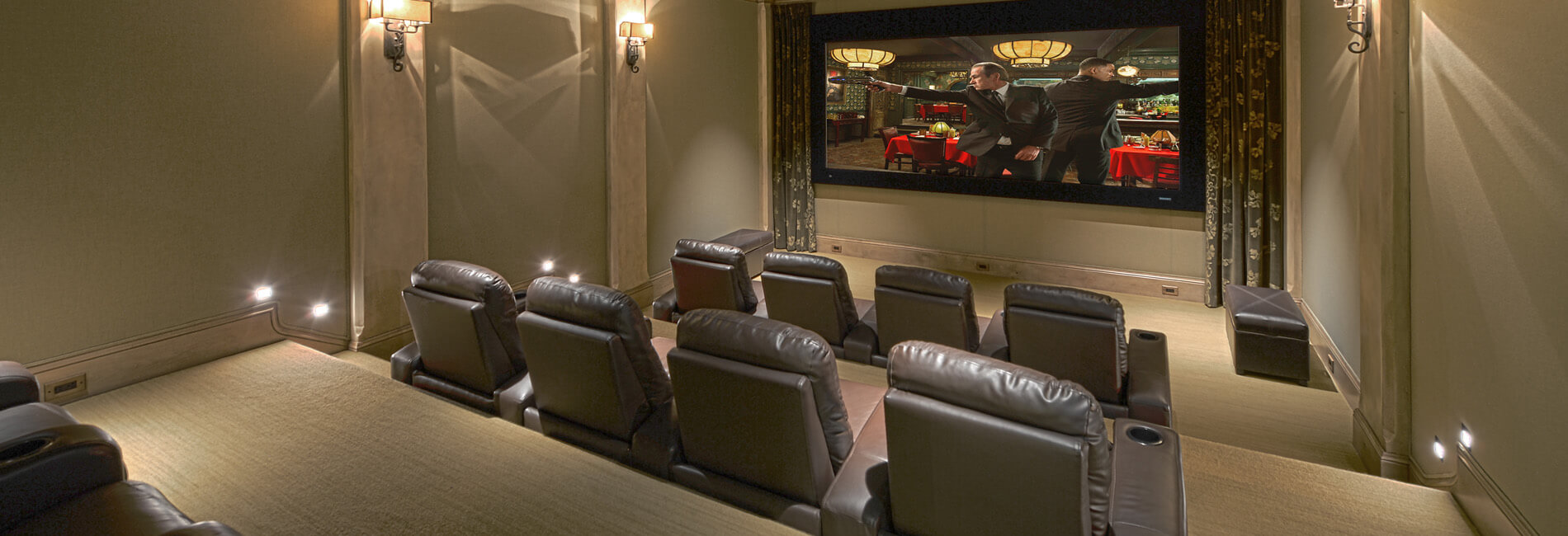 Home Theatre Seating Theater